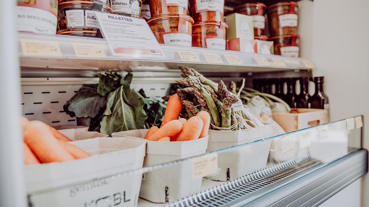Frisches Obst und Produkte